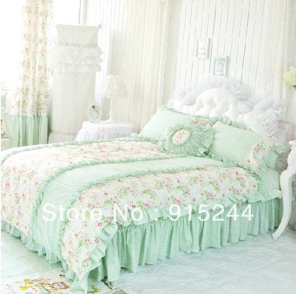 Light Green Twin Bedding