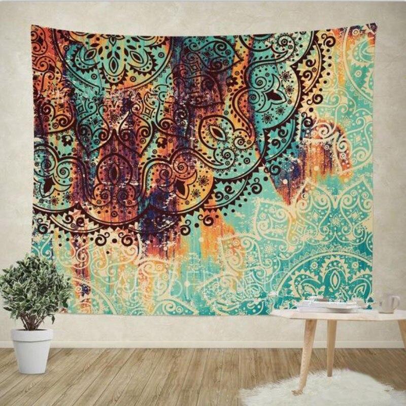 Mejor calidad 3D mapa del mundo Cosmos galaxia poliéster/algodón tapicería de pared Home Living Decor espacio flor playa