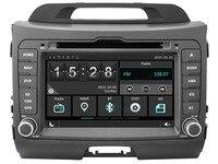 Автомобильный DVD плеер Автомобильный мультимедийный плеер для Kia Sportage 2011 2012 сенсорный экран передняя панель DVD плеер стерео wince6.0 компакт дис