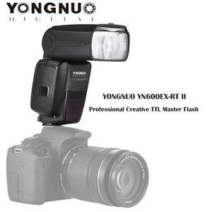 Image 4 - YONGNUO YN600EX RT II Auto TTL Flash HSS Speedlite + YN E3 RT II controlador disparador para Canon 5D3 5D2 7D Mark II 6D 70D 60D etc