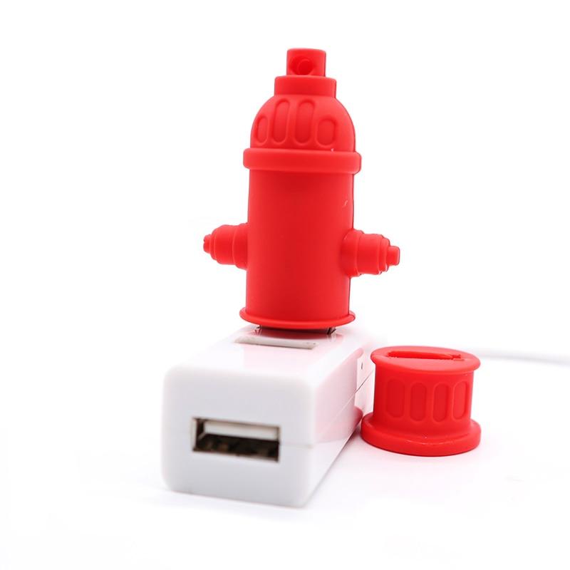 USB stick pen drive cartoon fire extinguisher usb flash drive 4GB 8GB 16GB 32GB 64GB memory stick creative gift pendrive cle usb