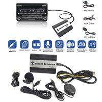 MAYITR Haute Qualité 1 Set De Voiture Mains Libres Stéréo AUX Adaptateur Interface Auto Bluetooth Interface Kits pour Volvo SC