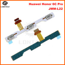 For Huawei Honor 6C Pro Power Volume Side Key button Flex Cable Honor V9 Play On Off Switch Flex Cable Replacement Repair Parts repair parts replacement left right button volume flex cable set for psp go black green