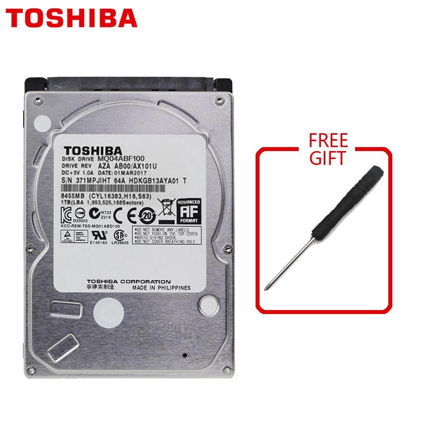 TOSHIBA 1TB Laptop Notebook Hard Drive Disk HDD HD 1000GB 1000G 2.5 7mm Height Thickness SATA 3 128M 6.0Gb/s 5400 RPM