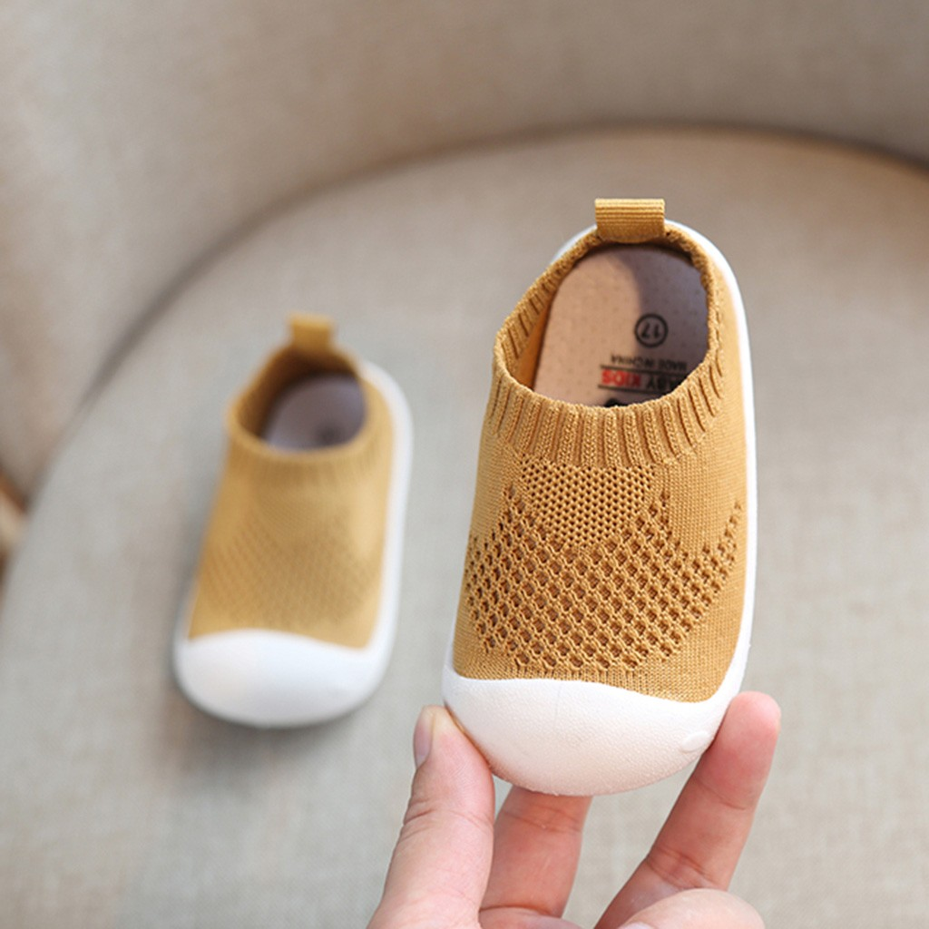Spring Infant Toddler Shoes Girls Boys Sneakers Kids Casual Mesh Shoes Soft Bottom Comfortable Non-slip Baby First Walkers Shoes
