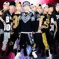 Frete grátis masculinos Hip Hop trajes de dança hip-hop dança DS traje de algodão de lantejoulas malha Harem Pants