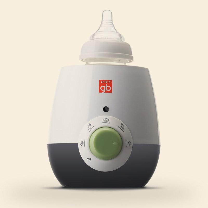 Creative Baby Bottle Warmer Smart Mute Multifunction Baby Milk Bottle Warmers Sterilizers  Food Heater Infant Feeding infant silica gel feeding bottle with spoon food supplement rice cereal bottle