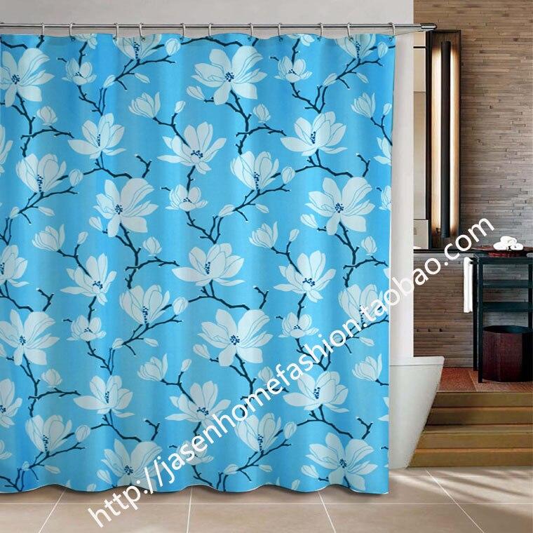 Magnolia flower bathroom products Shower Curtainbath ...