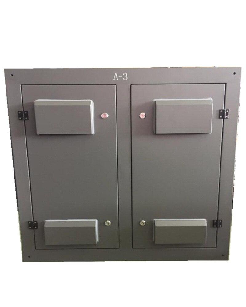 32*16 armoire en fer avec porte arrière 960x960mm SMD P10 polychrome pas cher LED affichage étanche pour la publicité médias écran LED