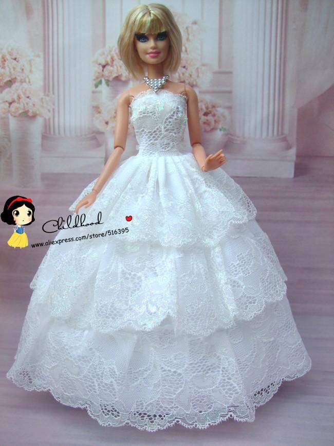 Como hacer vestido de novia para barbie