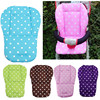 Soft Baby Infant Stroller Seat Cushion Pushchair Cotton Polka Dots Cushion Mat Car Seat Decorative Pillows