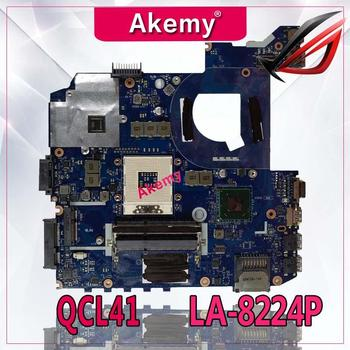 Akemy original QCL41 LA-8224P laptop motherboard for ASUS Motherboard K45VD A45V K45V K45VM K45VJ K45VS A45VJ mainboard tested