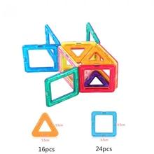 Magnet Blocks Construction Toys Puzzle Building Super DIY 40pcs Assemble Funny Creative