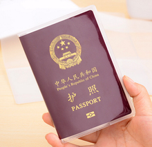 10PCS/LOT NEW transparent passport cover waterproof bags, protective sleeve FREE SHIPPING