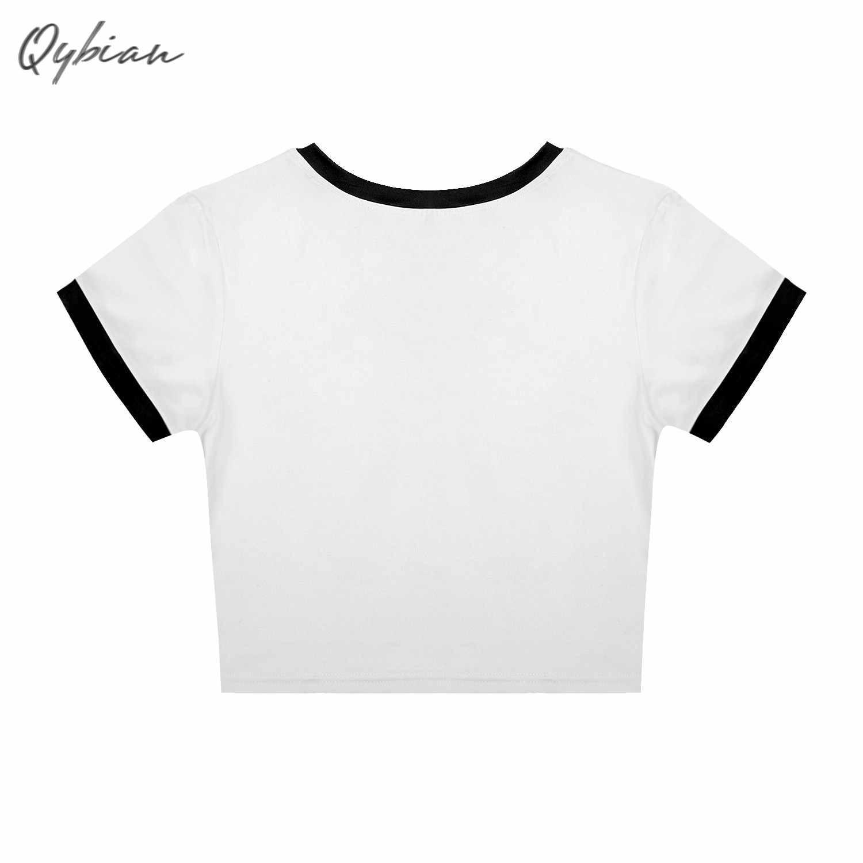 Horror Print O Hals Korte Mouw T-shirt 2019 Nieuwe Vrouw Slim Fit T-shirt Tee Zomer Hip Hop Stijl Tops zeer Goede Kwaliteit Mooie