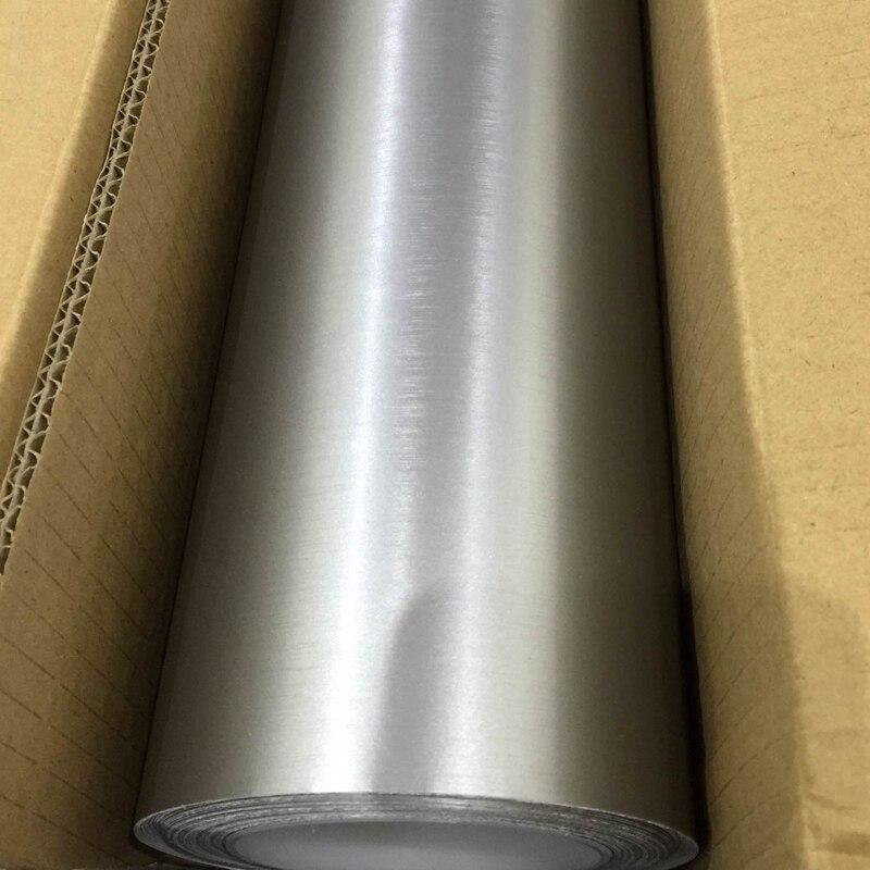 TSAUTOP 1 52x5m brushed matte chrome car vinyl wrap matte pearl car sticker