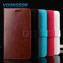 High Quality Flip Leather Case For Meizu M5 Mini Note Vintage Wallet Stand and Card Holder With Strap PZ1