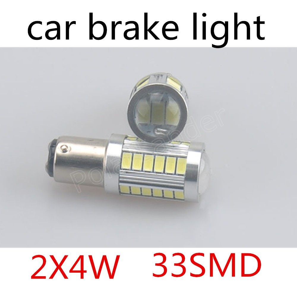 2X 33 SMD 1157 BA15S 5730 Auto Car Turn Lamp Brake Tail Parking Signal Light 4W reverse rear backup reverse hot sale
