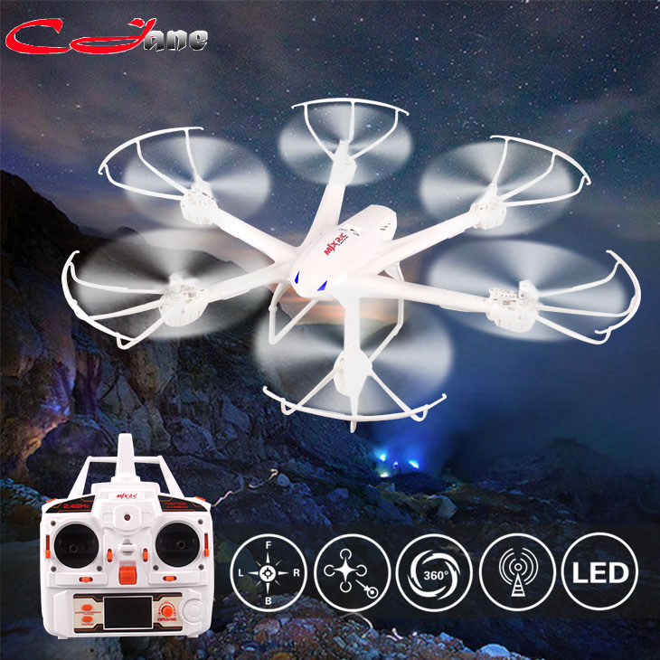 Free shipping MJX X600 2.4G 6-Axis RTF RC Hexacopter RC quadcopter RC drone with C4005 FPV HD camera set