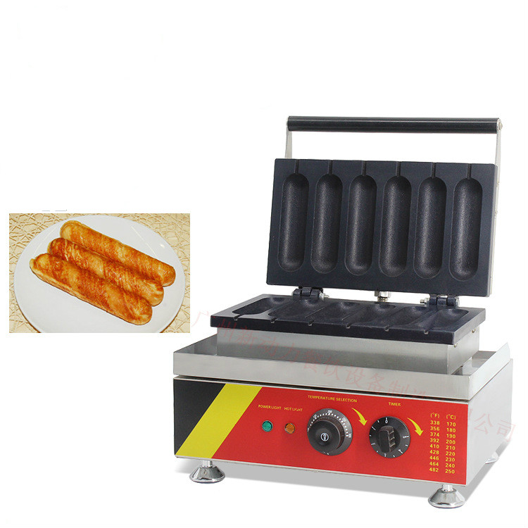 Hot Dog Making Machine Household Nonstick Cooking Commercial Surface Snack Makers 110V/220V edtid new high quality small commercial ice machine household ice machine tea milk shop