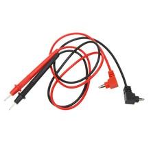1000 в 10 А профессиональный мультиметр игольчатый наконечник зонд 1 пара свинцовый мультиметр ручка для тестового зонда провод кабель для Fluke
