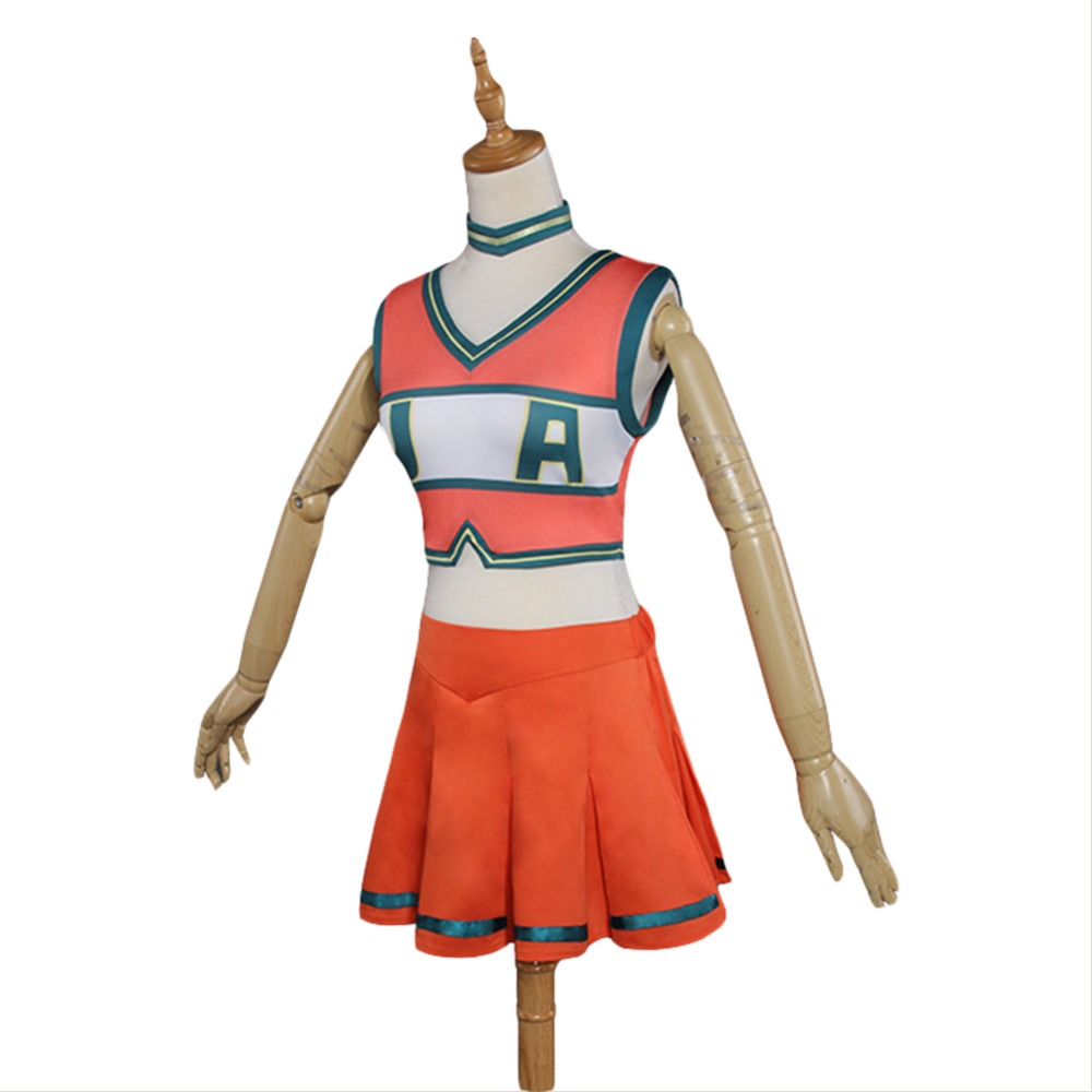 Boku no Hero Academia My Hero Academia Cheerleading Uniform Dress Cosplay Costume