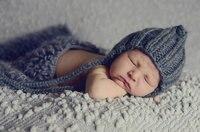 담요 아기 사진 소품 신생아 사진 소품 담요 아기 라이트 그레이 라이트 그레이 컬러 선택 색상