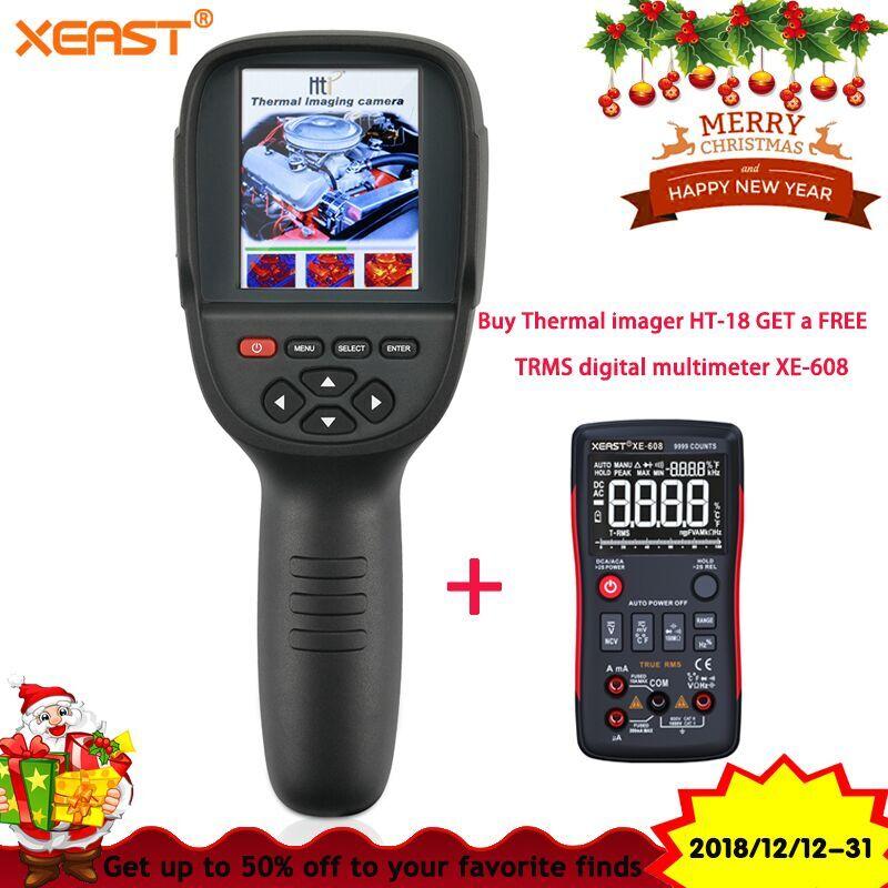 2018 Новый Realeased HT-18 ручной инфракрасный температура тепла ИК цифровой термальность Imager детектор камера с хранения 160x220 Resol