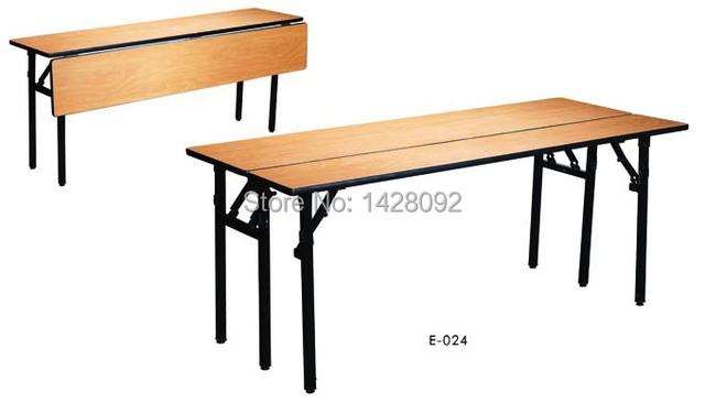 Dobrável mesa mesa de conferência de mesa com painel frontal do hotel semilar com modéstia