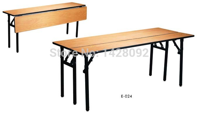 folding conference table with front panel hotel semilar table with modesty