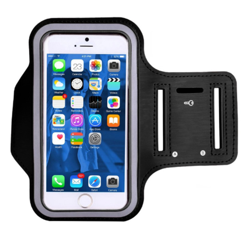 Waterproof Outdoor Sport Arm Bag Warkout Running Gym Phone Accessories Cover Bags For Iphone 6/7 Plus Cell Phone Arm Bag