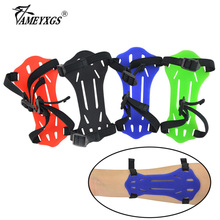 1pc Archery Rubber Arm Guard Shooting Safety Protective Gear For Outdoor Sports Hunting Accessories