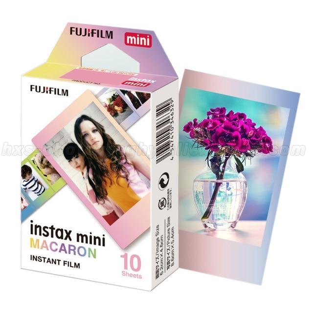 אמיתי 10 גיליונות Fujifilm Instax מיני מיידי סרט קרון נייר צילום פוג י מיני 8 9 7s 70 50 90 25 מצלמה SP1 SP2 Liplay