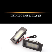For Audi TT A4L Q3Q5 LED license Plate Lamp refit Special Assembly Decoding
