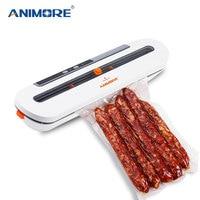 ANIMORE Food Vacuum Sealer For Food Saver 220V/110V Household Vacuum Sealer With 10pcs Vacuum Bags Free Sealing Machine
