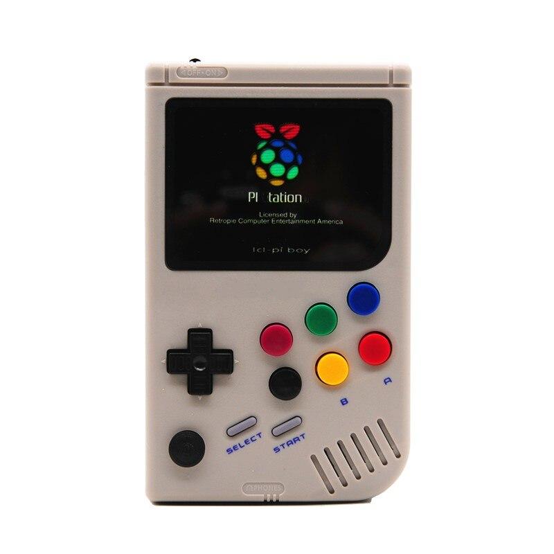 Porable rétro lcl-pi Raspberry Pi 3A + pour jeu garçon Console de jeu vidéo 3.5 pouces lecteur de jeu portable intégré 6000 jeux