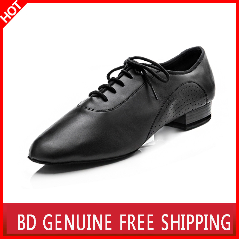 Big promotion BD dance shoes for men Genuine Leather square dance Social dance Ballroom Latin dance shoes 309 Modern shoes Hot аксессуар защитное стекло для huawei nova 2i honor 9i mate 10 lite zibelino tg 0 33mm 2 5d ztg huw hon9i