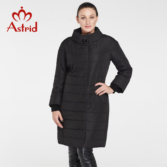 2017 Astrid Fashion Autumn and Winter Coat Plus Size Women Long Coats Woman Jacket Warm High Quality Jackets Winter Coat AM-5228