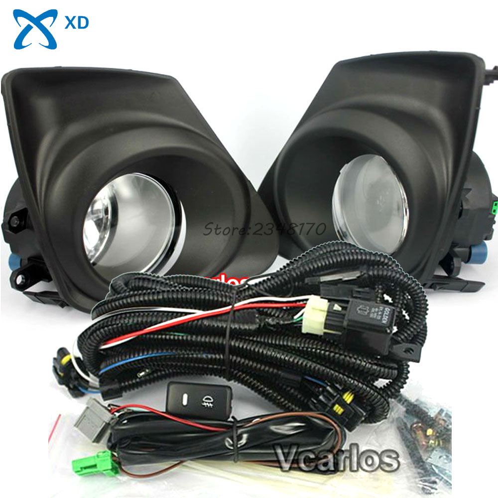 Fog Light Set Fog Lights Lamp for Toyota Corolla Altis 2011~ON And Corolla 2011 (U.S.TYPE) Clear Lens PAIR SET With Wiring Kit гелево тканевый altis fresco в красноярске