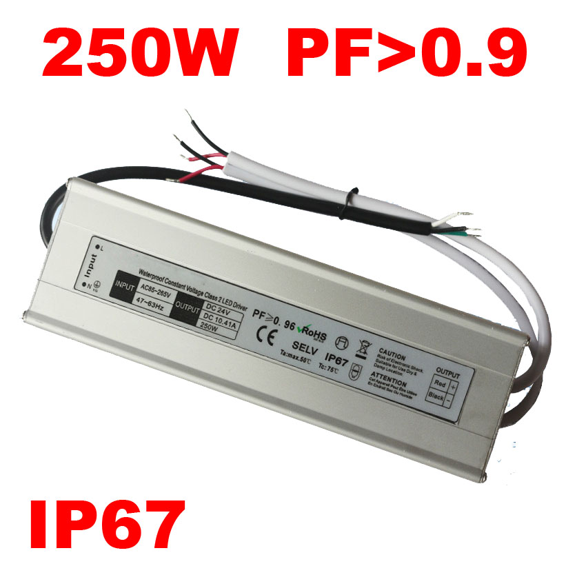 DC <font><b>12V</b></font> 24V LED Driver 100W 120W 150W 200W 250W 300W Waterproof IP67 12 Volt Power supply LED transformer <font><b>alimentation</b></font> 5A <font><b>10A</b></font> 15A image