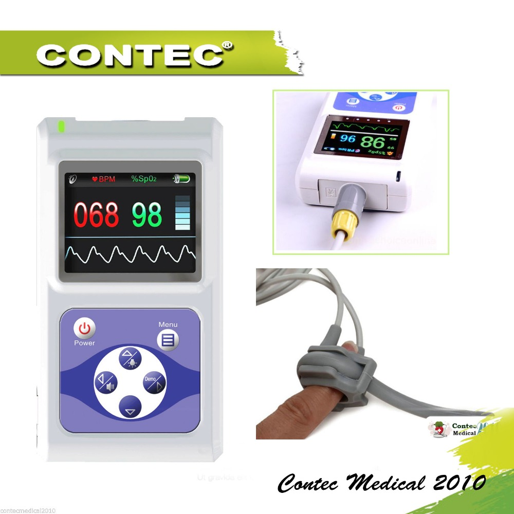 2017new  hot! CMS60D  CMS 60D CMS-60D CEHot ! Hand-Held Pulse Oximeter with big screen USB PC software (CMS60D-Infant) philips hr 1837 00 viva collection
