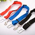 Pet Perro de Seguridad del Cinturón de Seguridad Del Coche Hebilla de Cuerda de Remolque Del Coche Trainborn Cinturón Provisto de Tres Colores