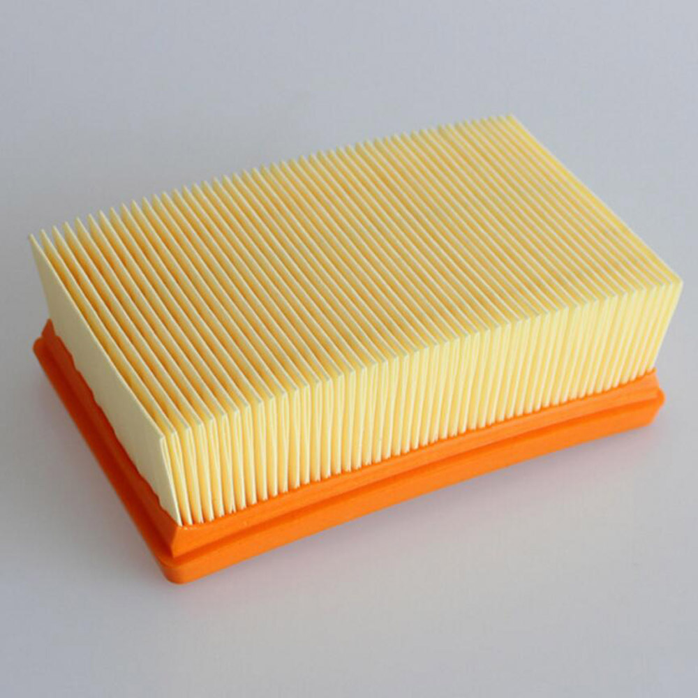 Flat-Pleated Filter for KARCHER WD4 MV4 MV5 MV6 WD5 WD6 Wet and Dry Vacuum Cleaner Parts #2.863-005.0 HEPA Filters цена