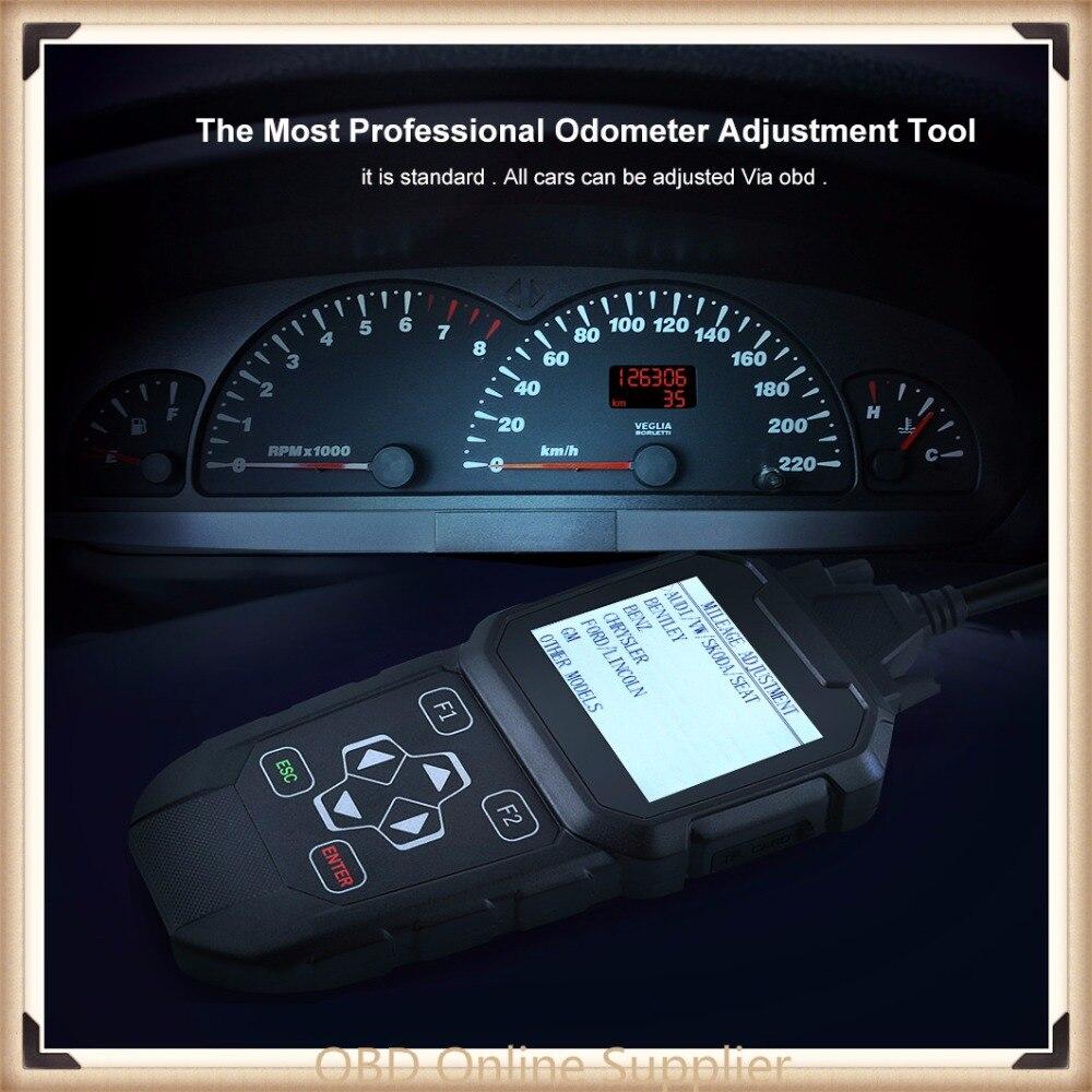 2018 Odometer Adjustment correction tool+OBD2 Scanner Mileage Adjust diagnose Tool OBDPROG MT401 Mileage reset Diagnostic Tool