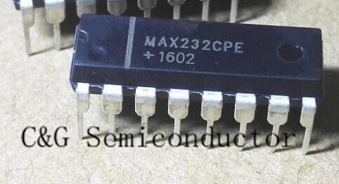 10 шт. MAX232CPE Max 232 CPE ic, интегральная схема Max 232 CPE MAX232