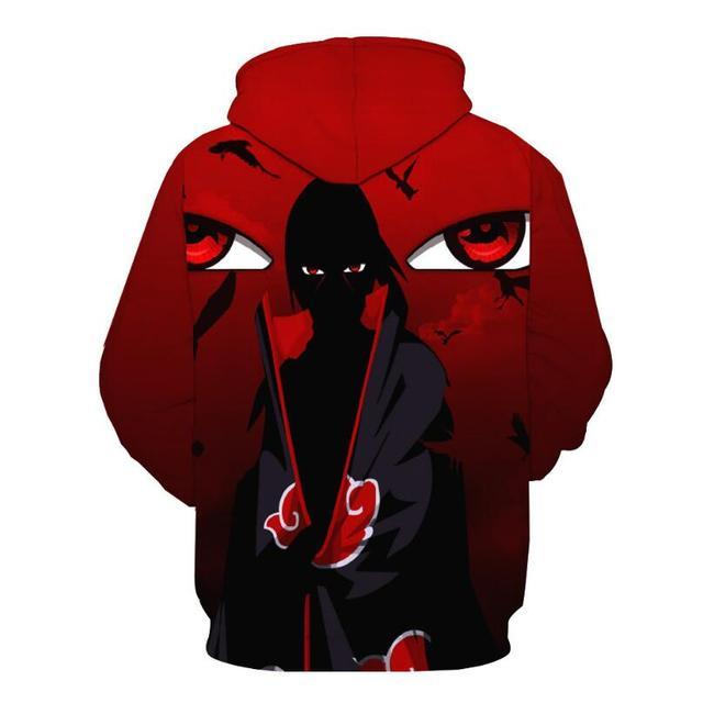 Naruto Hoodies Men 3D Printed Pullovers Sportswear Sweatshirts 2018 Spring male Hoodie Naruto cosplay Long sleeve clothing   4