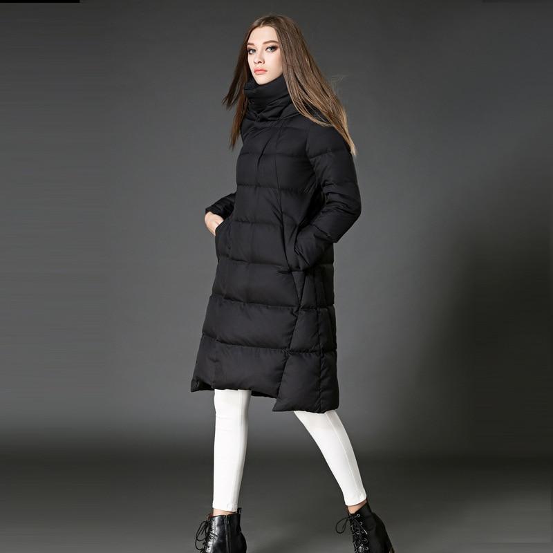 d10e34aa93e women s fashion jacket luxury down coat 2016 european winter long jacket  plus size ladies quilted with hood puffer jacket women