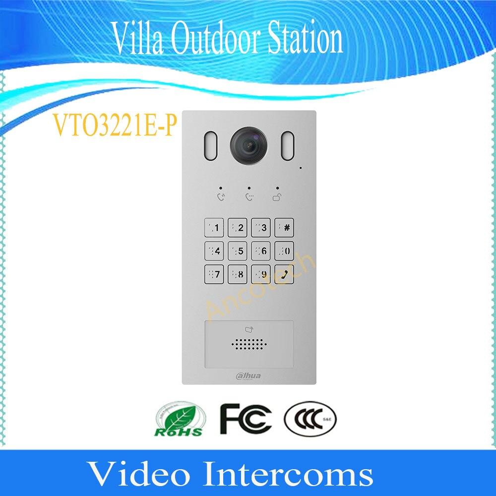 DAHUA Video Intercom Doorbell IP Products 2MP Keyboard Villa Outdoor Station DHI-VTO3221E-P