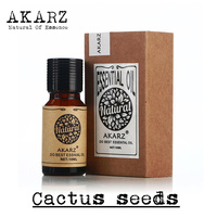 AKARZ Famous Brand Pure Natural Cactus Seeds Essential Oil Dry Hair Repair And Bifurcation Reduce Dandruff