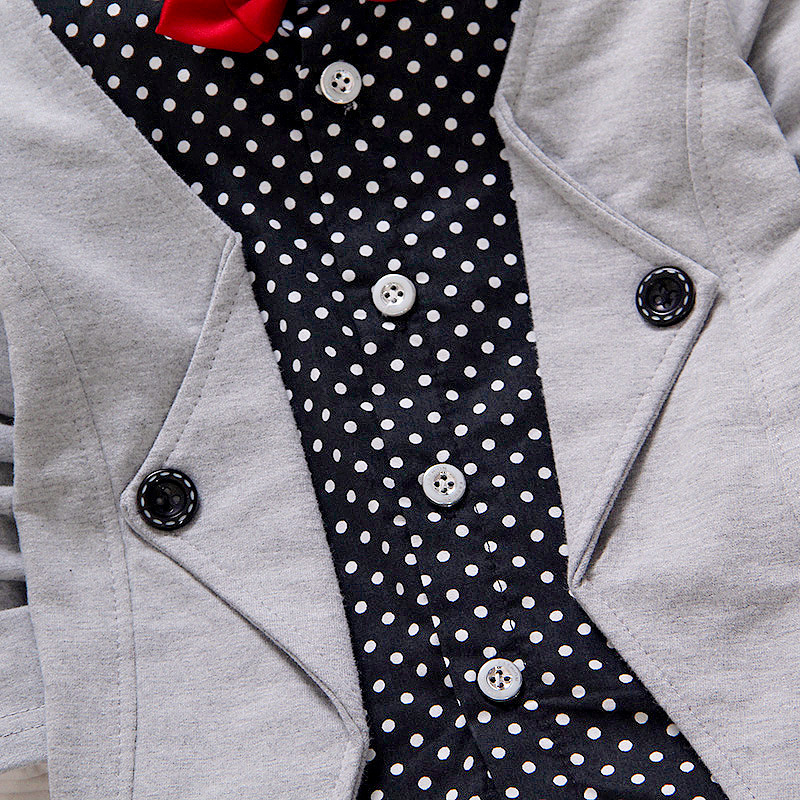 BibiCola-Spring-Autumn-Baby-Boy-girls-Clothing-Sets-children-Bow-tie-T-shirts-pants-kids-cotton-cardigan-2-pc-suit-sport-suit-3